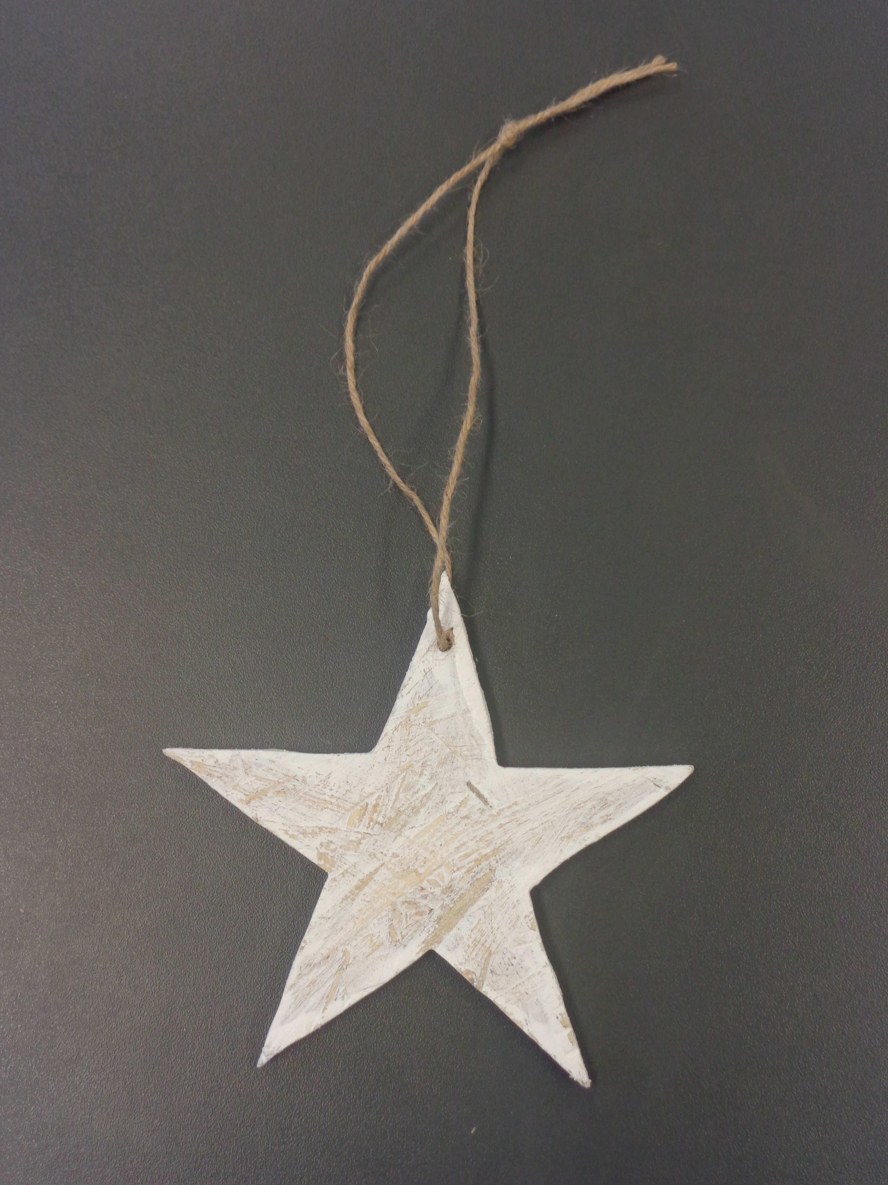 CEDR Vánoční hvězda dřevěná