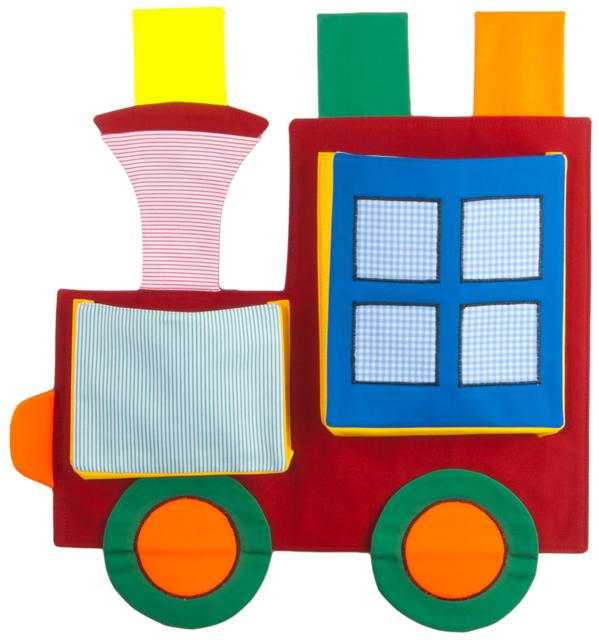 CEDR Kapsář lokomotiva 45x48 cm (bez vagonku)