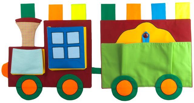 CEDR Kapsář lokomotiva + 1 vagón 45x48 cm